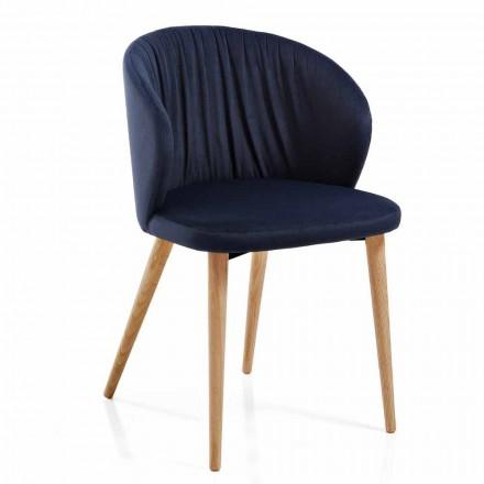 Esszimmerstühle aus Stoff Elegantes modernes Design 2 Stück - Reginaldo