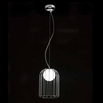 Selene Kluvì Hängelampe aus geblasenem Glas Ø19 H 27/150cm