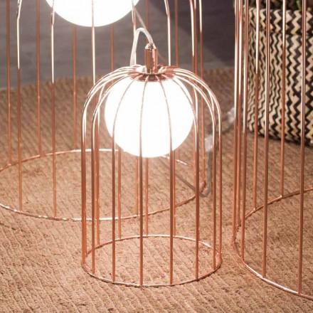 Selene Kluvì Lämpchen aus geblasenem Glas und Metal  Ø19 H 27cm