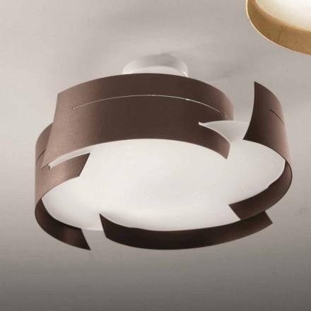 Selene Vultur Deckenlampe aus Stahl made in Italy Ø47 H 25cm