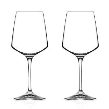 3-teiliges Set Ökologischer Kristallwein Dekanter und Kelch - Etera