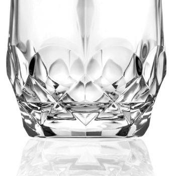 12 Stück Ökologisches Kristall Whiskyglas Service - Bromeo