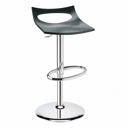 Hocker aus Technopolymer und Stahl Made in Italy - Scab Design Diavoletto