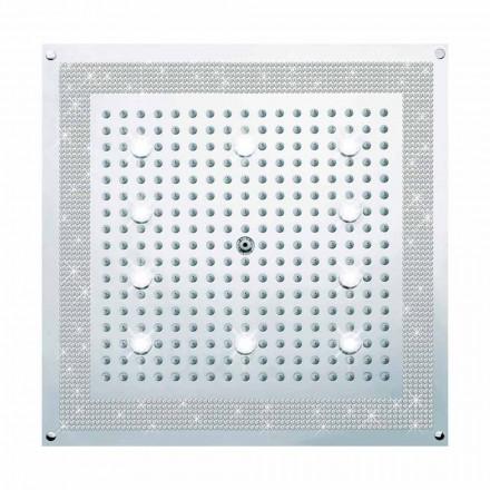 LED Duschkopf mit Swarowski Bossini Dream