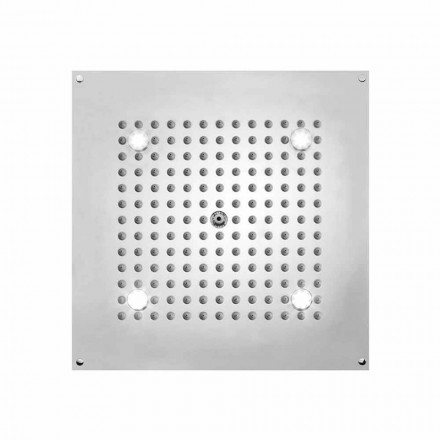 Regenduschkopf mit LED und 1 Strahlart Bossini