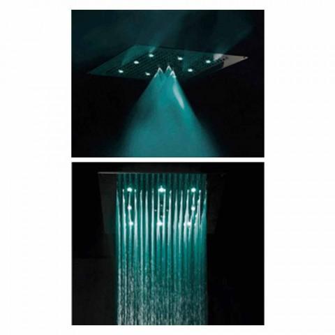 Deckenduschkopf mit LED zwei Jets Bossini Traum Neb