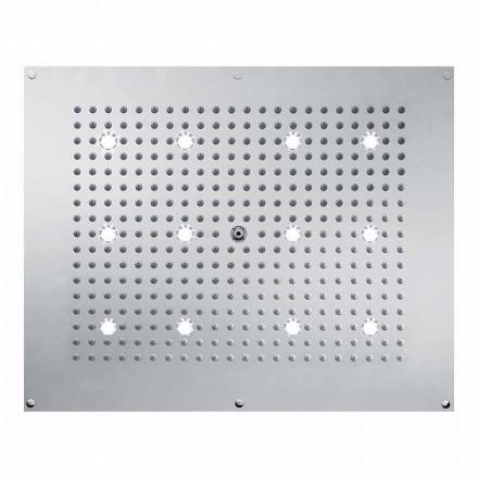 Duschkopf Regendusche in modernem Design mit LED Beleuchtung Bossini