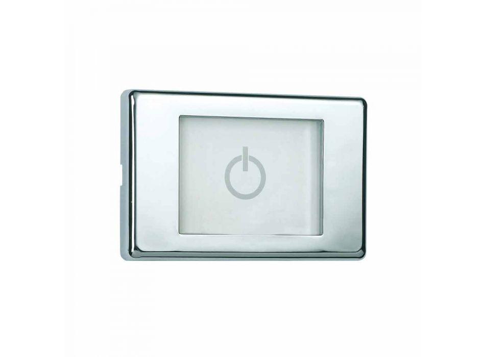 Moderne Vier Funktion Duschkopf Dusche mit LED-Leuchten Traum