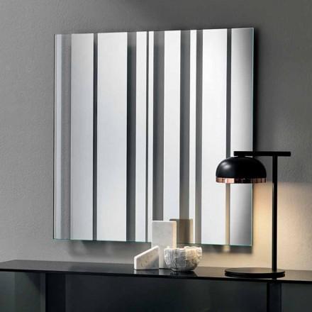 Quadratischer Wandspiegel des modernen Designs Made in Italy - Coriandolo