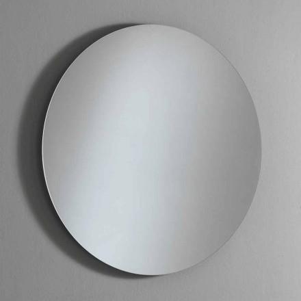 Runder Wandspiegel mit Hintergrundbeleuchtung und LED Made in Italy - Ronda