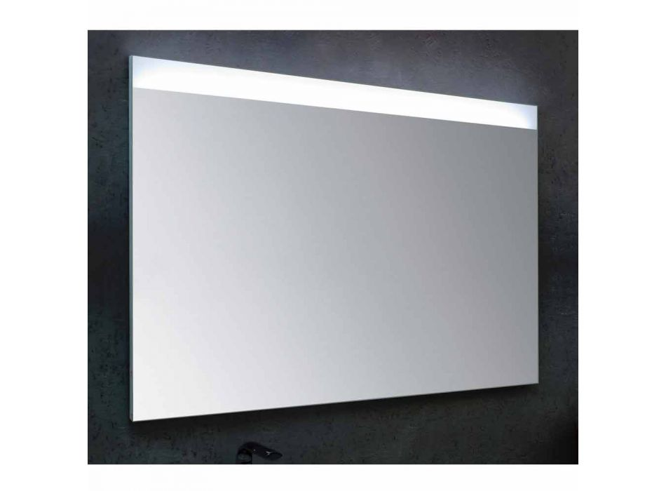 Badezimmerspiegel mit LED modernes Design Beleuchtung Yvone