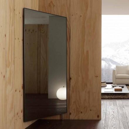 Wandspiegel mit öffnender Tür und Kleiderhaken Made in Italy - Boro