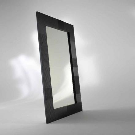 Rechteckiger moderner Standspiegel mit Spiegelrahmen aus MDF