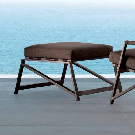 Talenti Cottage Gartenhocker in modernem Design made in Italy