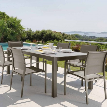 Talenti Touch Outdoor Tisch Ausziehbarer 152/225cm made in Italy