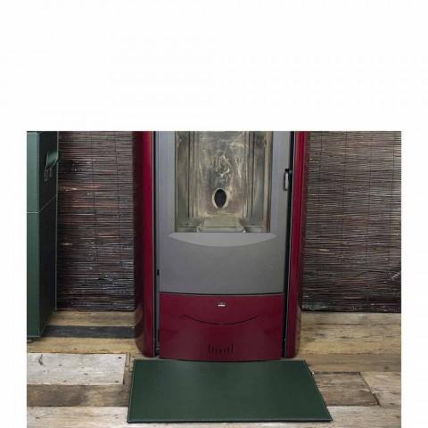 Lederunterlage für Kamin / Virgilio Made in Italy