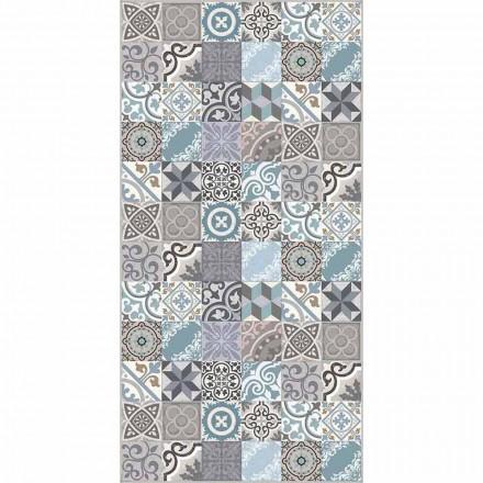 Moderner farbiger Fantasy-Teppich aus PVC und Polyester - Belita