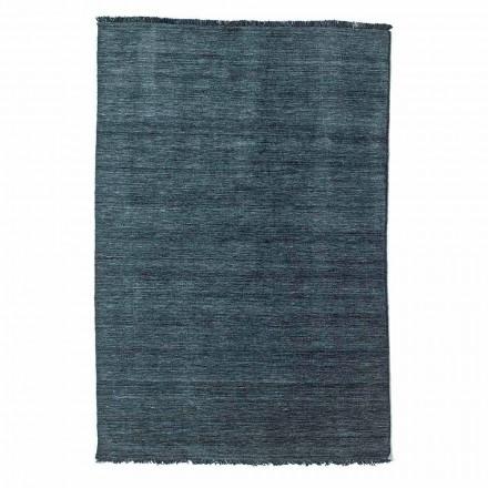 Modernes Design Wohnzimmer Teppich Vielseitig in 100% Wolle - Pepita