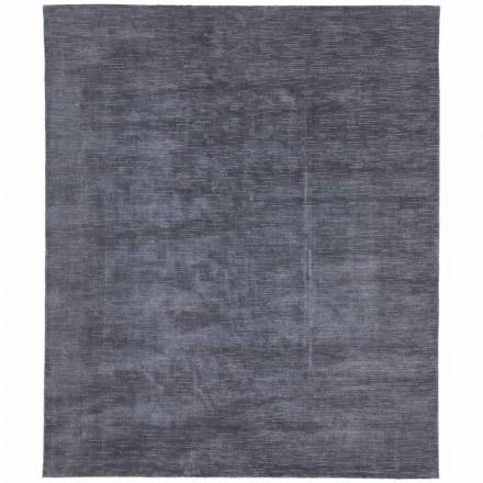 Großer und farbiger Teppich mit gestreiftem und modernem Design für Wohnzimmer - Prickle