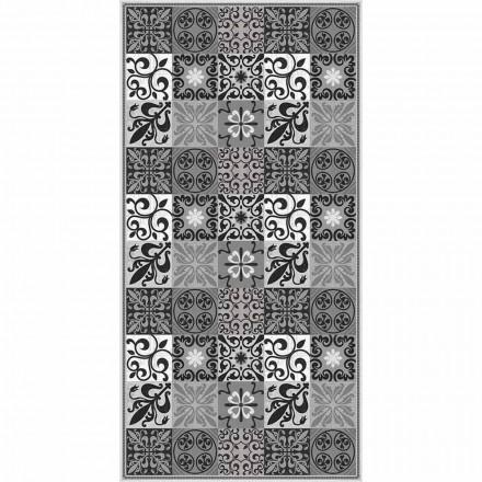 Design Wohnzimmer Teppich aus PVC und Polyester mit Fantasy - Pita