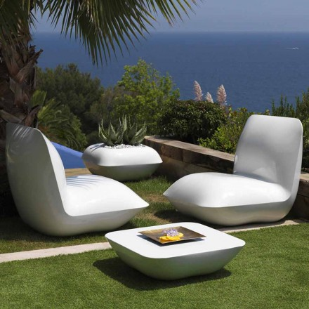 Outdoor-Couchtisch Pillow Vondom, modernes Design 67x67 cm