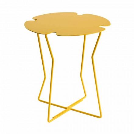 Couchtisch für Wohnzimmer in Metall, Design in verschiedenen Farben - Kathrin