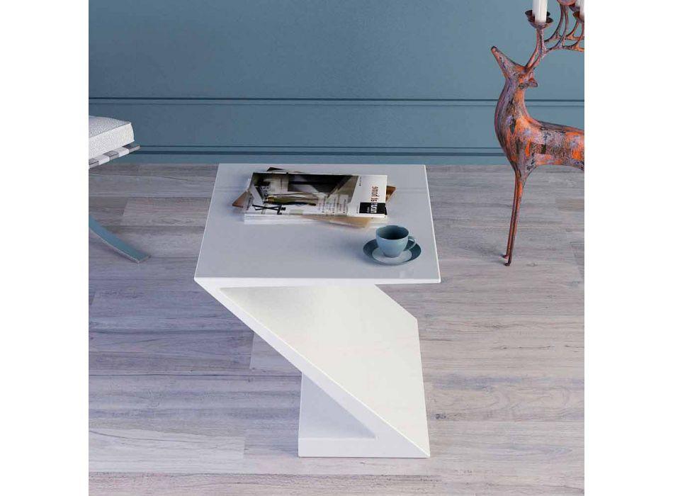 Tisch weiß modernes Design Sitz Zeta made in Italy