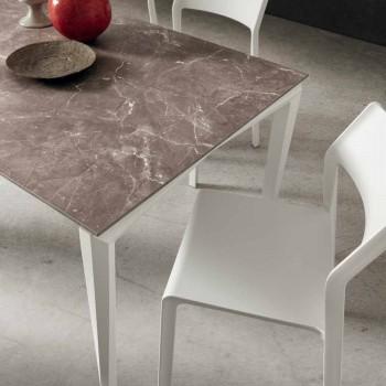 Ausziehbarer Tisch Bis zu 240 cm mit HPL-Platte Made in Italy - Fantastisch