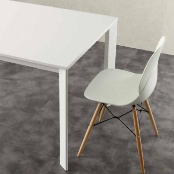 Ausziehbarer Tisch bis zu 3 Meter in Aluminium und Schichtstoff HPL-Urbino