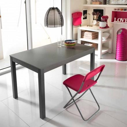 Verlängerbarer Tisch aus Buchenholz Made in Italy Tito