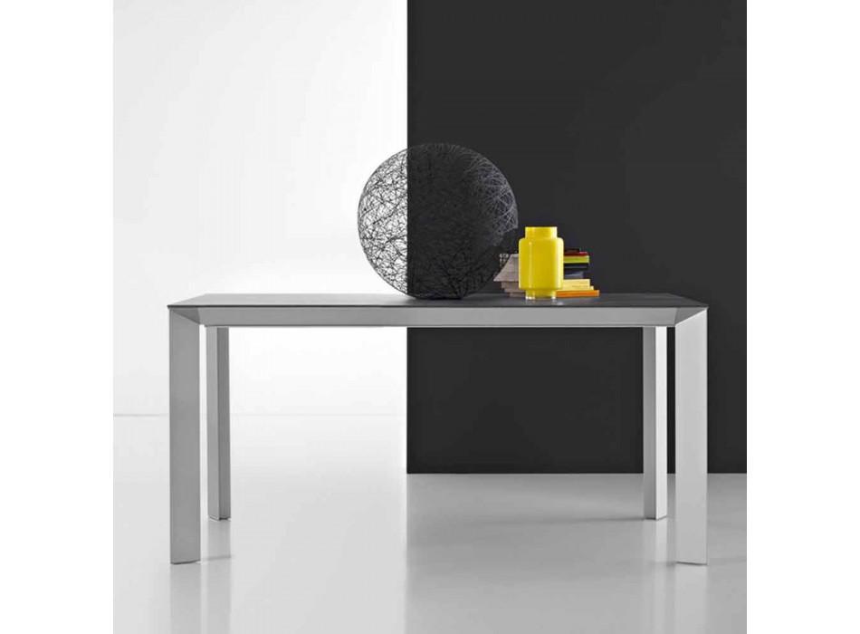 Moderner ausziehbarer Tisch mit Aluminiumstruktur - Blera