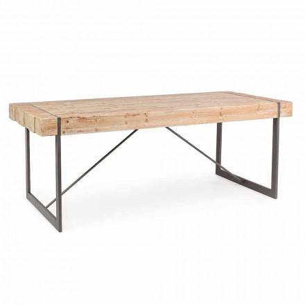 Homemotion Industrial Style Tannenholz Tisch - Wallie