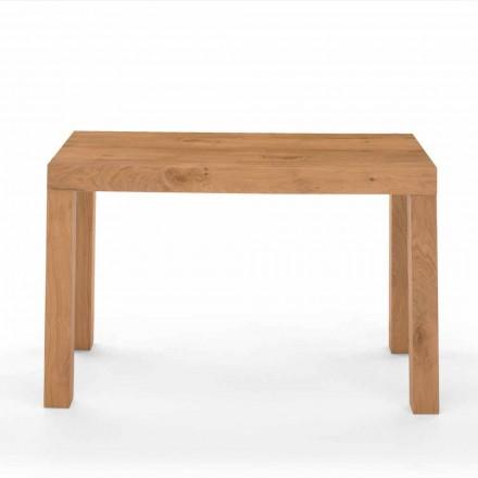 Ausziehbarer Konsolentisch aus Furnierholz Made in Italy – Gordito