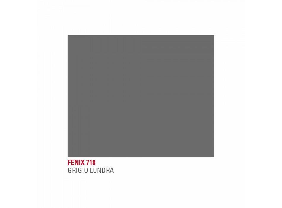 Ausziehbarer Küchentisch Bis zu 240 cm in Fenix Made in Italy - Maltesisch