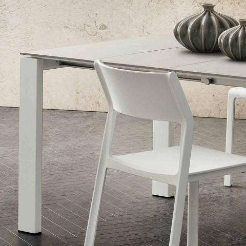 Ausziehbarer Küchentisch Bis zu 240 cm in Precious Hpl Made in Italy - Jupiter