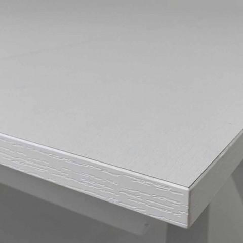 Ausziehbarer Küchentisch Bis 300 cm aus Melamin Made in Italy - Grotta