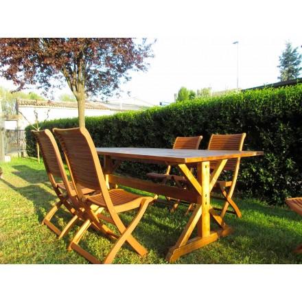 Rustikaler Tisch aus Tannenholz Made in Italy - Clinio
