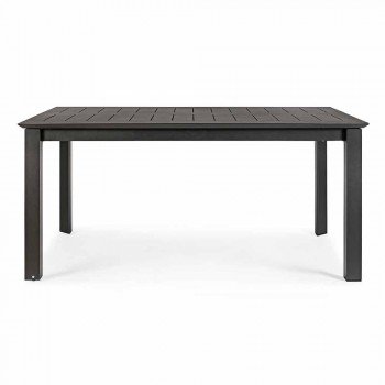 Ausziehbarer Gartentisch Bis zu 240 cm in Aluminium Homemotion - Pemberton