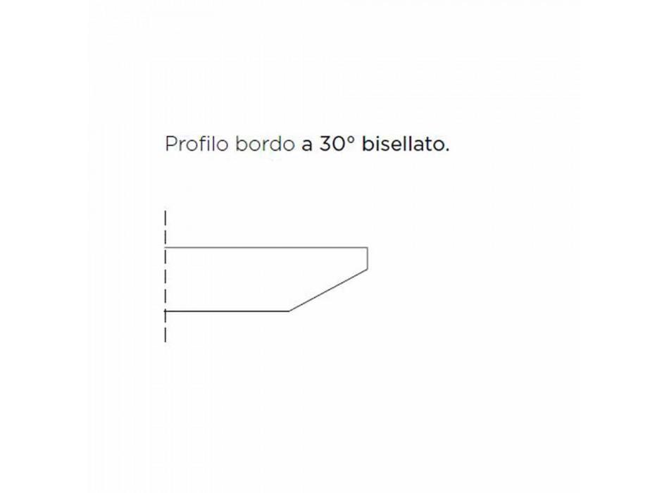 Barrel Esstisch aus Fenix und Luxus Made in Italy Stahl - Settimmio