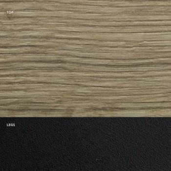 Barrel Esstisch aus Laminat in Holzoptik Made in Italy - Grotta