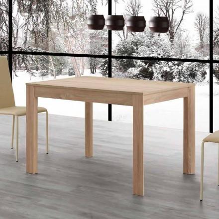 Fiumicino ausziehbarer Esstisch 130x80 offen 190 cm, Design