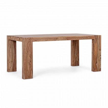 Homemotion Holz Esstisch ausziehbar bis 265 cm - Bruce