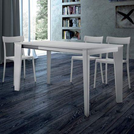 Esstisch ausziehbar bis 310 cm aus Melaminholz Made in Italy – Settanta