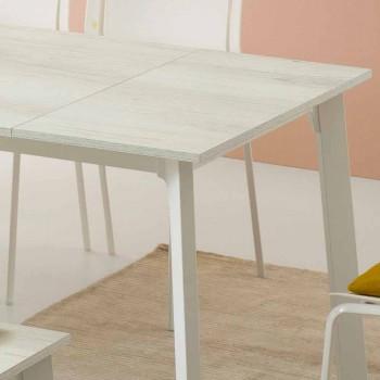 Design Esstisch, erweiterbar mit 6/8 Sitzplätzen - Arnara Basic