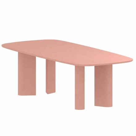 Design Esstisch aus Ton Made in Italy - Bonaldo Geometric Table