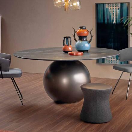 Runder Esstisch mit Metallfuß Made in Italy - Bonaldo Circus