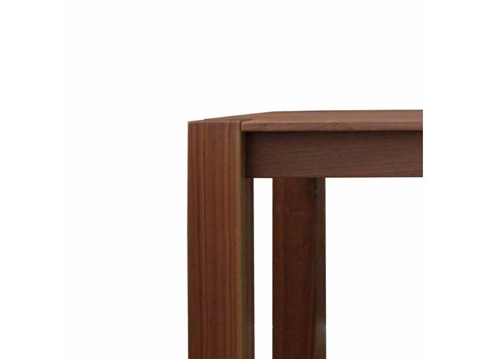 Ausziehbarer Design Tisch bis 260cm in Jacob Eiche