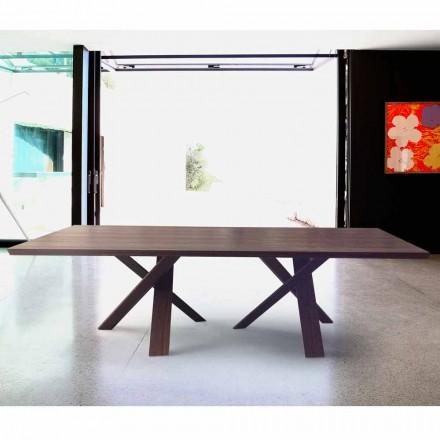 Modernes Design Holztisch 240x120 cm made in Italy Tree
