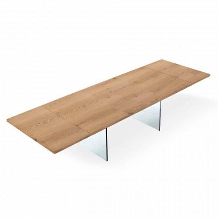 Moderner Esstisch ausziehbar bis 300 cm – Strappo