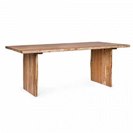Homemotion Modern Acacia Wood Esstisch - Pinco